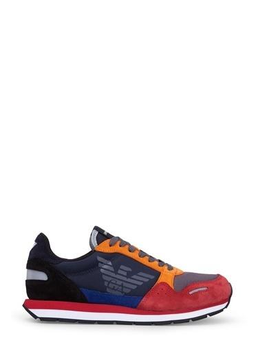 Emporio Armani Sneakers Kırmızı